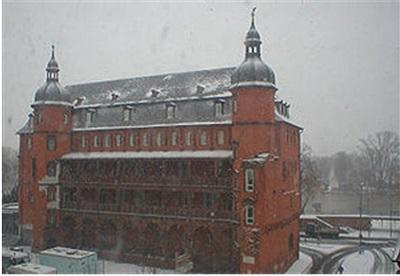 Изенбургский замок в Оффенбахе, где жил Якоб Франк