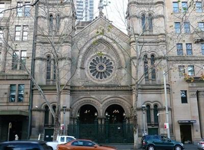 Большая синагога в г. Сидней. Была построена в 1878 году. Mikhail Ivanov