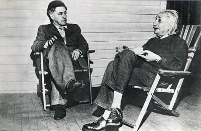 Илья Эренбург и Альберт Эйнштейн