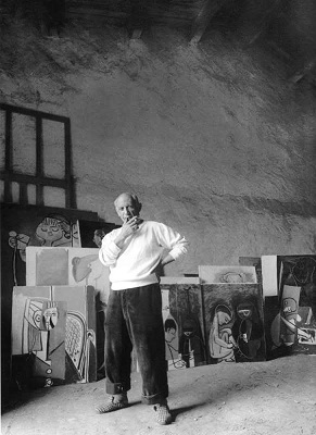 Портрет Пабло Пикассо. Фото: picassolive.ru