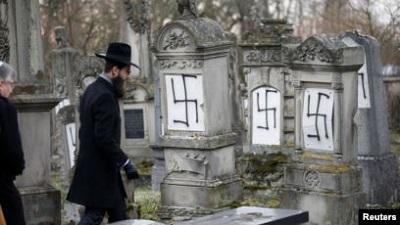 Антисемитизм в Европе сегодня Фото: gdb.voanews.com