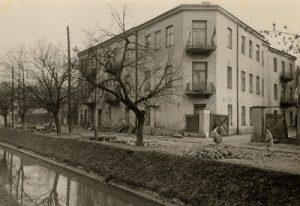 Тот самый дом на улице Планты. Фото: Ghetto Fighters' House Museum