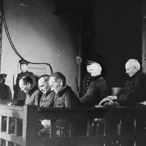 Суд над военными преступниками. Фото: interaffairs.ru