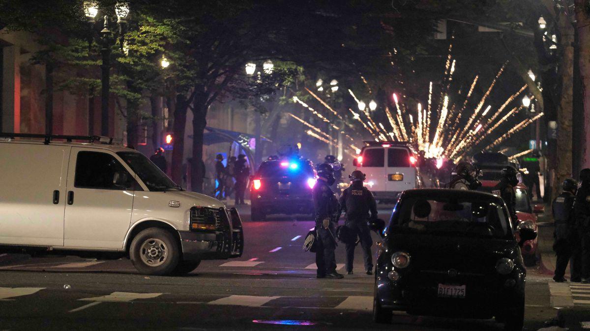 riots in portland