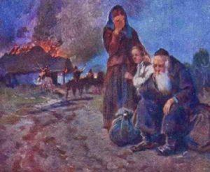 Истребление евреев казаками Хмельницкого