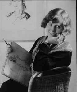 Hilla Rebay in her Carnegie Hall studio, 1935. https://www.moma.org