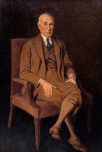 Hilla Rebay. Solomon R. Guggenheim. New Jork. 1928 https://www.guggenheim.org/artwork/3636