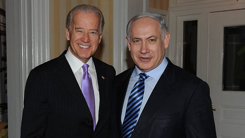 Meeting of Prime Minister Benjamin Netanyahu with Vice President Joe Biden in Washington. Photo: Amos Ben Gershom GPO  ?????? ?????? ????? ?? ?'? ????? ???? ?????????