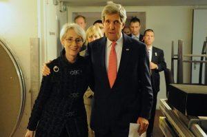 Венди Шерман и Джон Керри Фото: static01.nyt.com/