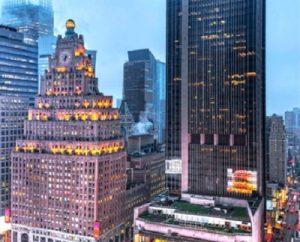 Штаб-квартира Paramount, Таймс-сквер, Нью-Йорк. yandex.ru/images