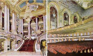 Театральный зал в Штаб-квартире Paramount. cinematreasures.org/theaters