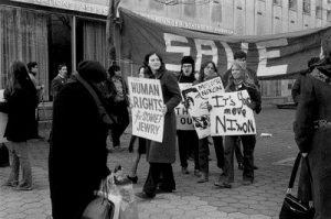 Демонстрация в Нью-Йорке в защиту советских евреев, 1972 Фото: http://vaadua.org