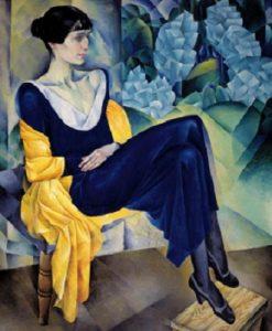 Н. Альтман. Портрет А. А. Ахматовой, 1914, ГРМ
