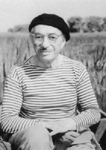 Натан Альтман в окрестностях Ленинграда. 1960-е