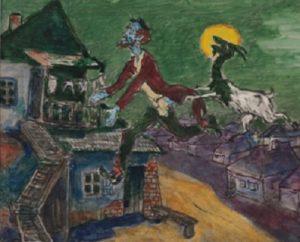 Натан Альтман. «Заколдованный портной», 1963