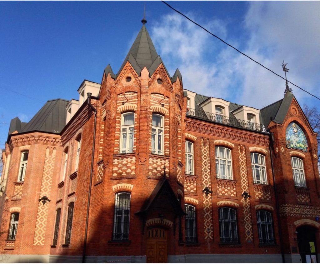Московский областной художественный фонд до конца 1990-х годов находился на границе Басманной и Немецкой слобод