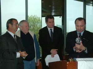 Столпы COJECO Тимур Сапир Сэм Кислин и Феликс Френкель справа