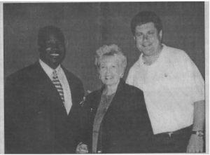 Rodney Knight and Gloria Hauken. Балотировались с Бруком-Красным в 2000 году. Ссылка на статью.