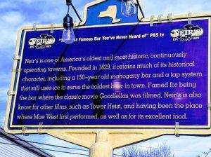 Neir's Tavern Historical marker in Woodhaven Queens. Фото: en.wikipedia.org/wiki