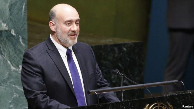 Ron Proson in UN - 29 November