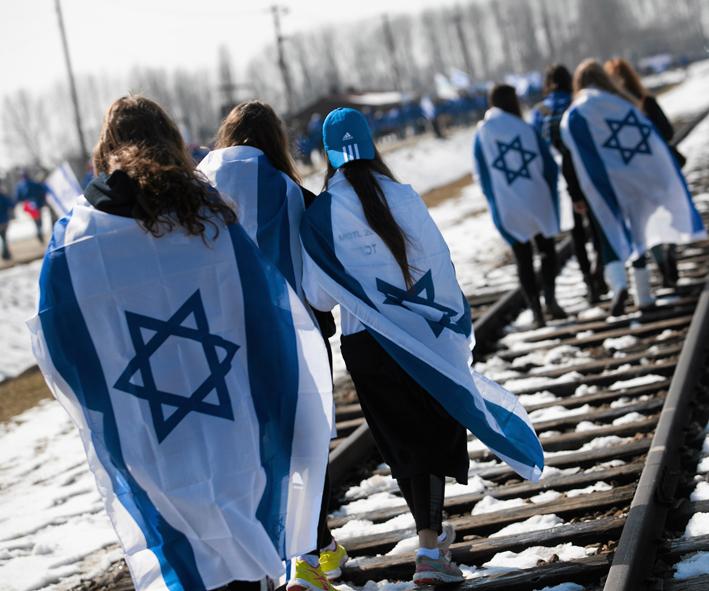 «Марш живых» в Освенциме. 2013 год