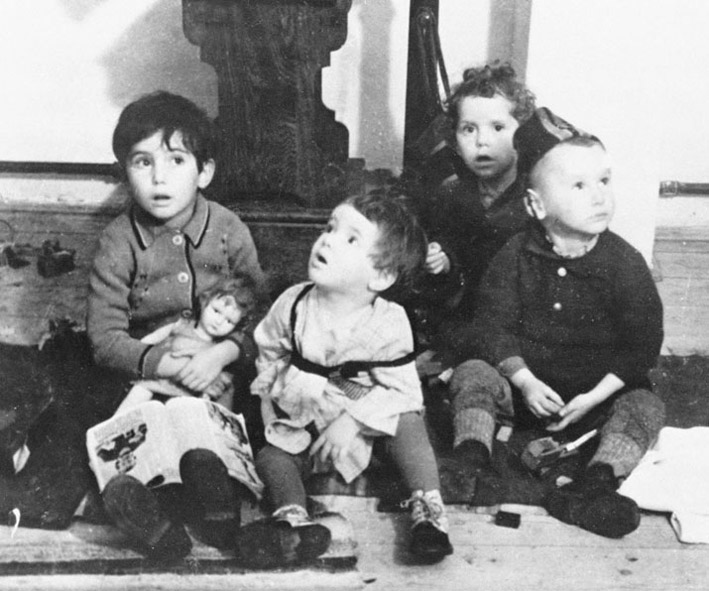 Еврейские беженцы. 1938год
