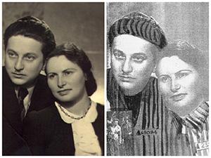 Йосеф Бау с женой Ривкой