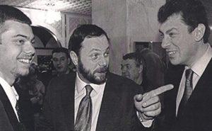Владимир Кара-Мурза-младший,  Владимир Кара-Мурза-старший и Борис Немцов