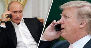 Разговор Трампа с Путиным?
