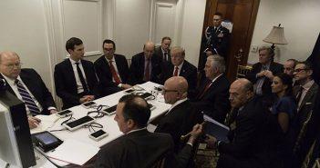 После удара по Сирии президент иего советники обдумывают дальнейшие шаги