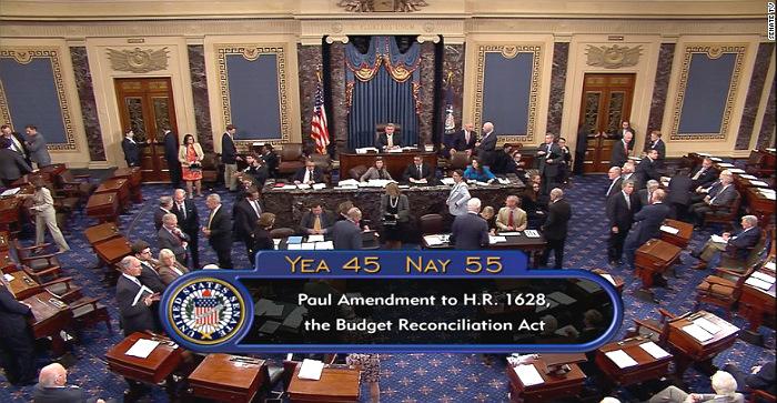 Сенат США отклонил законопроект об отмене Obamacare