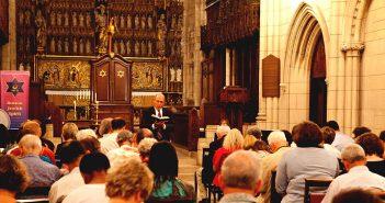 Реформистское моление в шабат. Бостон, США