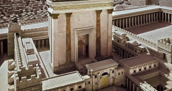 Scale model of Jerusalem and the second temple