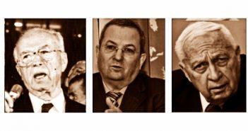 Премьер-министры Израиля из высших военных: Ицхак Рабин, Эхуд Барак, Ариэль Шарон