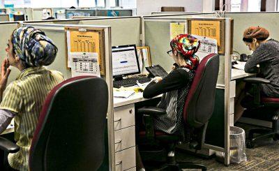 Женщины-харедийот - оффисные работницы