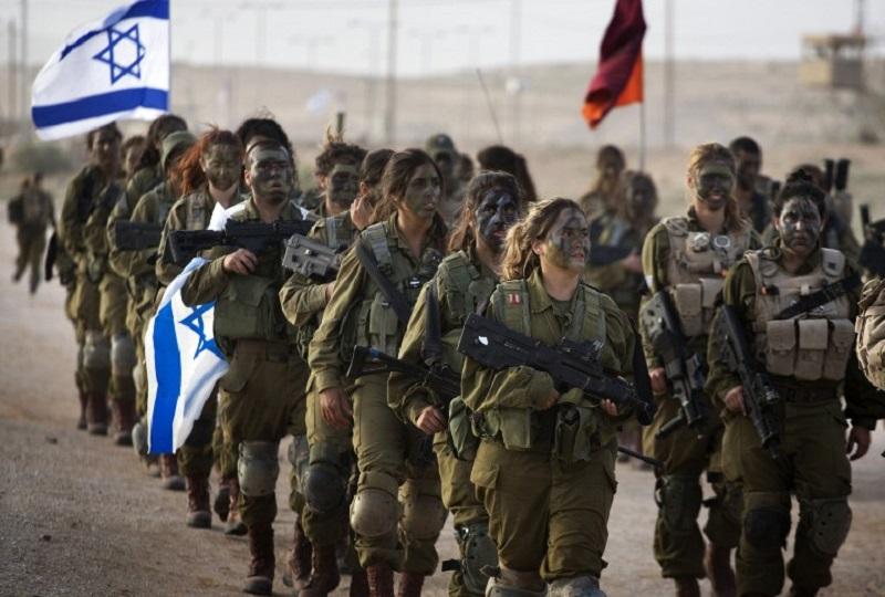 ISRAEL-MILITARY-WOMEN