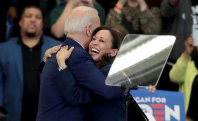 Фото: Джо Байден и сенатор Камала Харрис