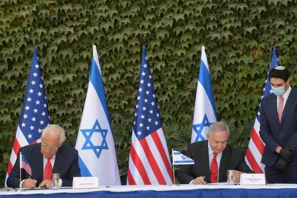 Friedman-und-Netanjahu_ariel