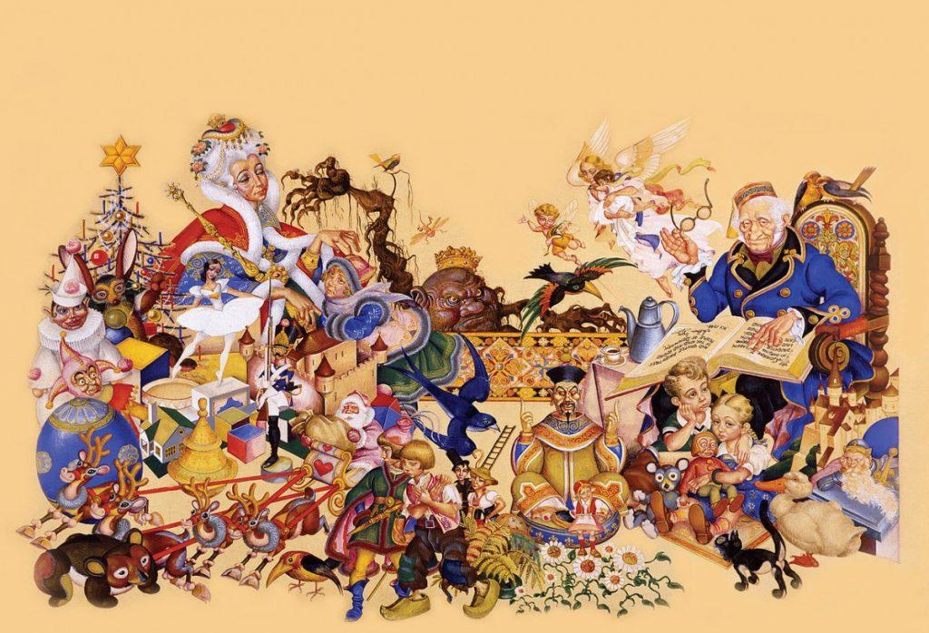 1280px-Arthur_Szyk_(1894-1951)._Andersen's_Fairy_Tales,_inside_cover_illustration_(1944),_New_York